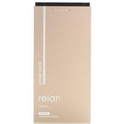 Фото Внешний аккумулятор Remax Relan 10000mAh (RPP-65-GOLD) Gold