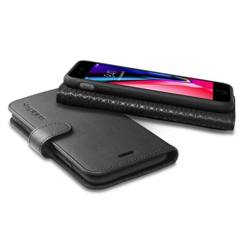 Фото Чехол Spigen для Apple iPhone 8/7 Wallet S (054CS22635) Black
