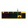 Фото Игровая клавиатура HATOR Rockfall Yellow Edition Outemu Mechanical Switches Blue RU (HTK-601) Yellow