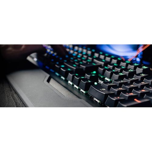 Фото Игровая клавиатура HATOR Earthquake Kailh Optical Blue RU (HTK-701) Black