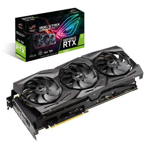Фото Видеокарта Asus ROG GeForce RTX 2080 Ti STRIX Advanced edition 11264MB (STRIX-RTX2080TI-A11G-GAM)