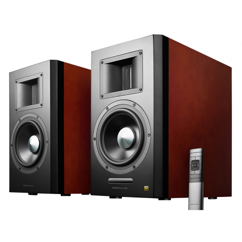 Фото Акустическая система Edifier AirPulse A300 Active Bookshelf Speaker Black/Brown