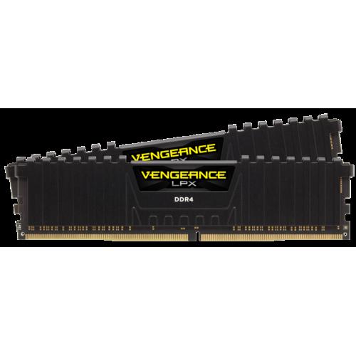 Фото ОЗУ Corsair DDR4 16GB (2x8GB) 3000Mhz Vengeance LPX (CMK16GX4M2D3000C16) Black