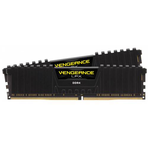 Фото ОЗУ Corsair DDR4 8GB (2x4GB) 3000Mhz Vengeance LPX (CMK8GX4M2C3000C16) Black