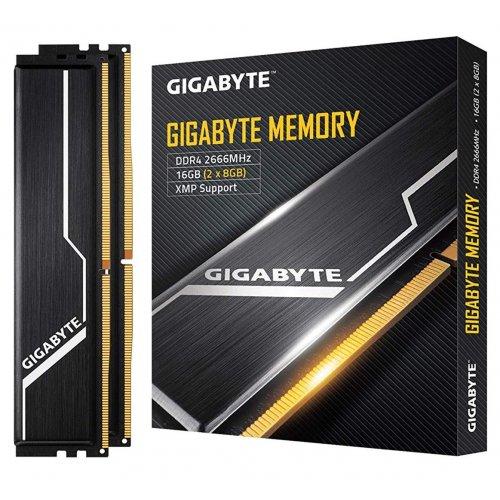 Фото ОЗУ Gigabyte DDR4 16GB (2x8GB) 2666Mhz (GP-GR26C16S8K2HU416)