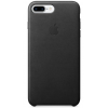 Фото Чехол Apple iPhone 8/7 Plus Leather Case (MQHM2) Black