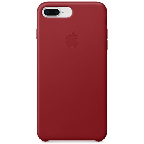Фото Чехол Apple iPhone 8/7 Plus Leather Case (PRODUCT) (MQHN2) Red