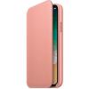 Фото Чехол Apple iPhone X Leather Folio (MRGF2) Soft Pink