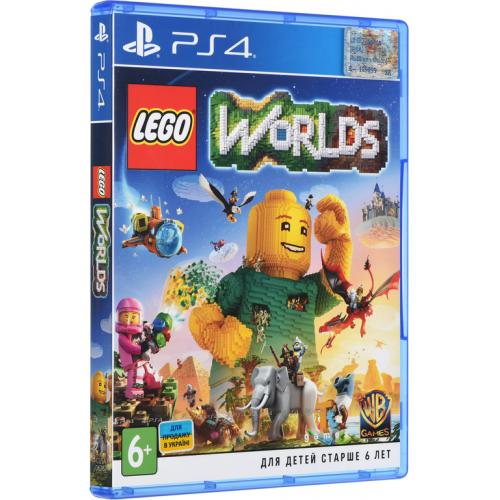 Фото Игра для PS4 LEGO: Worlds (PS4) Blu-ray (2205399)