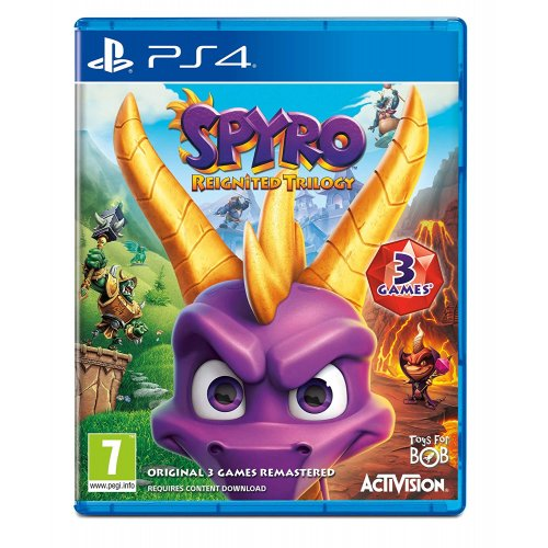 Фото Игра для PS4 Spyro Reignited Trilogy (PS4) Blu-ray (7242175)