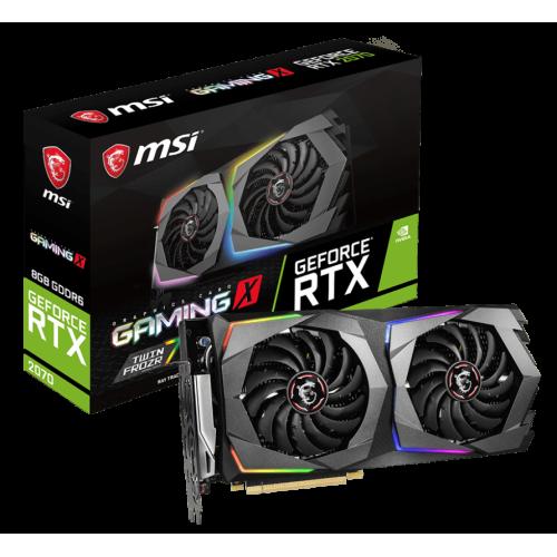 Фото Видеокарта MSI GeForce RTX 2070 GAMING X 8192MB (RTX 2070 GAMING X 8G)
