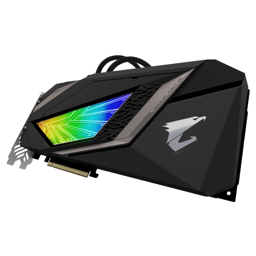 Фото Видеокарта Gigabyte GeForce RTX 2080 Ti AORUS XTREME WATERFORCE 11264MB (GV-N208TAORUSX W-11GC)