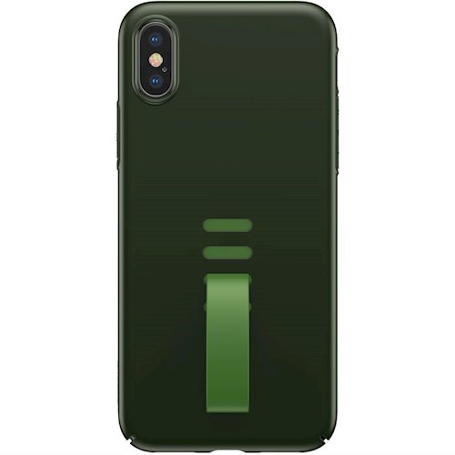Купить Чехлы, Baseus для Apple iPhone X Little Tail (WIAPIPHX-WB06) Green