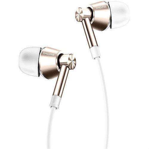 Фото Наушники 1more 1M301 Piston Earphone In-Ear Mic White Gold