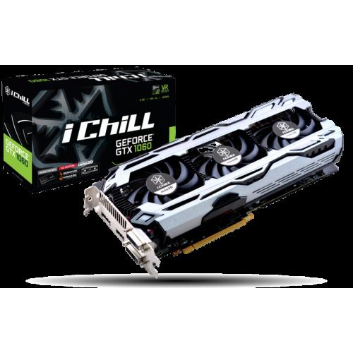 Фото Видеокарта Inno3D GeForce GTX 1060 iChill X3 V3 6144MB (C1060-9SDN-N5GSX)