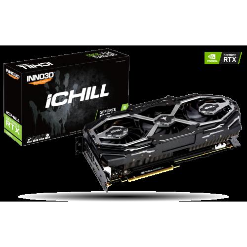 Фото Видеокарта Inno3D GeForce RTX 2070 iChill X3 JEKYLL 8192MB (C20703-08D6X-1790VA16)