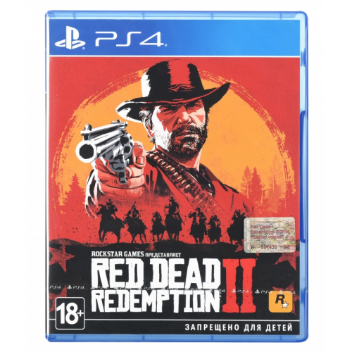 Фото Игра для PS4 Red Dead Redemption 2 (PS4) Blu-ray (5423175)