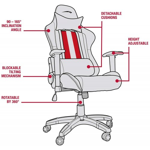 Фото Игровое кресло SPEEDLINK Regger Gaming Chair (SL-660000-BK) Black