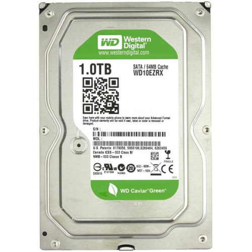 Фото Жесткий диск Western Digital Caviar Green 1TB 64MB 3.5