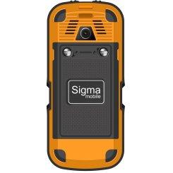 Фото Мобильный телефон Sigma mobile X-treme IP67 Dual Sim Black-Orange