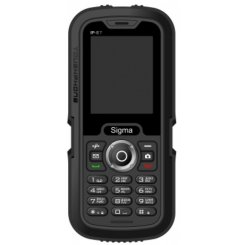 Фото Мобильный телефон Sigma mobile X-treme IP67 Dual Sim Black-Black