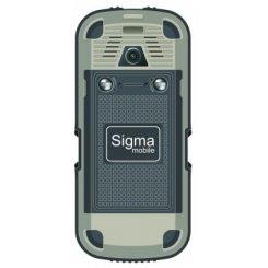 Фото Мобильный телефон Sigma mobile X-treme IP67 Dual Sim Black-Grey