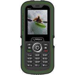Фото Мобильный телефон Sigma mobile X-treme IP67 Dual Sim Green