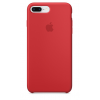 Фото Чехол Apple для iPhone 8/7 Plus Silicone Case (PRODUCT) (MQH12) Red
