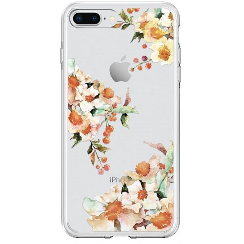 Фото Чехол Spigen для Apple iPhone 8/7 Plus Liquid Crystal Aquarelle (055CS22784) Primrose