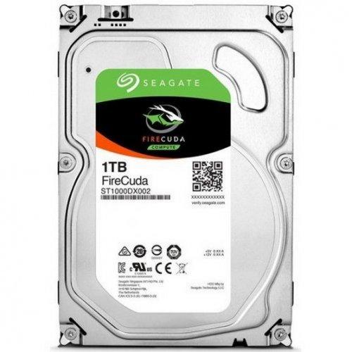 Фото Жесткий диск Seagate FireCuda (SSHD) 1TB 64MB 7200RPM 3.5'' (ST1000DX002 FR) Factory Recertified