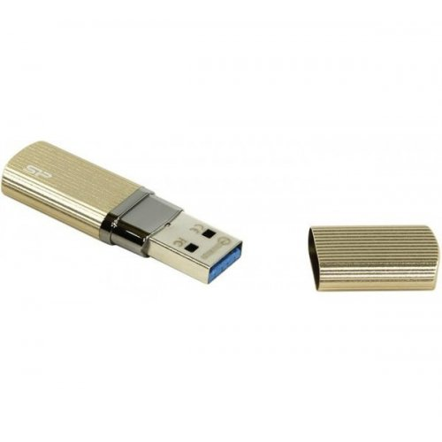 Фото Накопитель Silicon Power Marvel M50 USB 3.0 32GB Champagne (SP032GBUF3M50V1C)