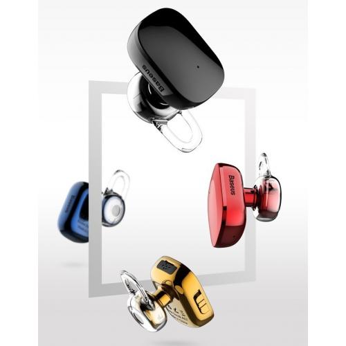 Фото Bluetooth-гарнитура Baseus A02 Encok Mini Wireless Earphone (NGA02-0V) Gold