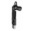 Фото Bluetooth-гарнитура Baseus Magnetic Bluetooth Earphone (NGCX-01) Black