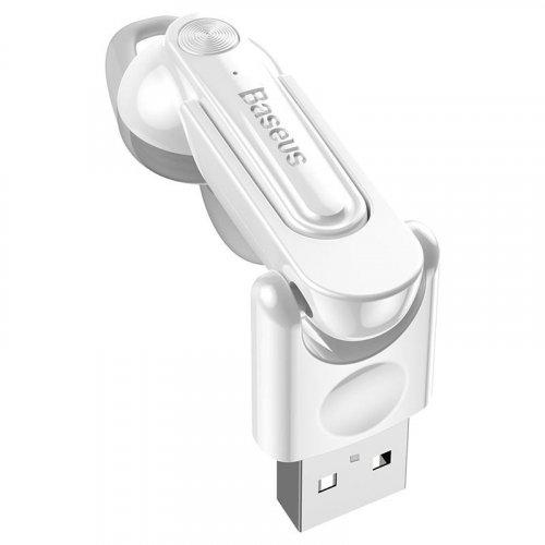Фото Bluetooth-гарнитура Baseus Magnetic Bluetooth Earphone (NGCX-02) White