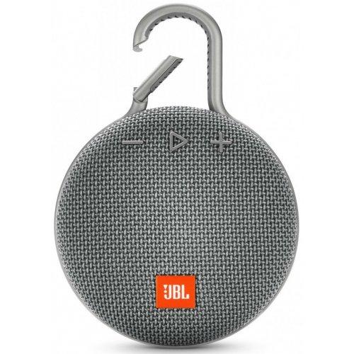 Фото Портативная акустика JBL Clip 3 Gray