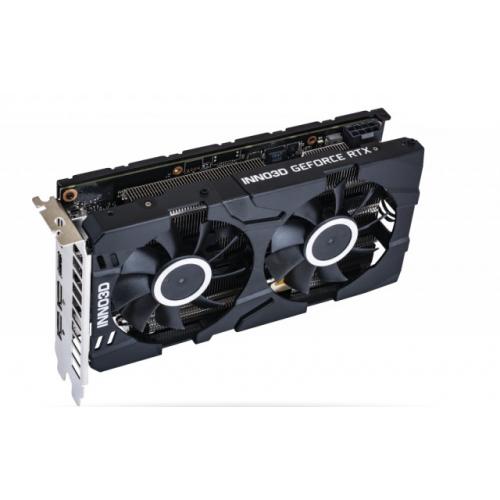 Фото Видеокарта Inno3D GeForce RTX 2060 Twin X2 6144MB (N20602-06D6-1710VA23)
