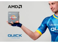 Фото Наш партнер компанія AMD стала спонсором велокоманди Quick Cycling Team