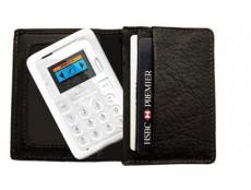 Фото QUMO представила минителефон CardPhone, вес которого 38 грамм