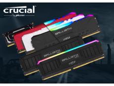 Фото Crusial пополнила ассортимент двухканальной памяти DDR4 наборами Ballistix и Ballistix MAX