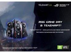 Фото 14 марта Republic of Gamers и компания NVIDIA приглашают всех в шоурум TELEMART.UA на ROG Game Day!