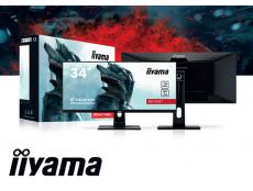 Фото Iiyama G-Master GB3461WQSU Red Eagle - плоский игровой монитор с разрешением 3440x1440 и диагональю 34 дюйма
