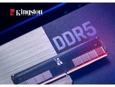 Фото Оверклокерські модулі пам'яті DDR5 Kingston почне поставляти вже в третьому кварталі
