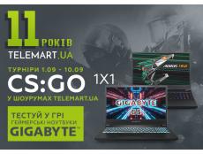 Фото Тестуй нові ігрові ноутбуки GIGABYTE у CS:GO в TELEMART.UA