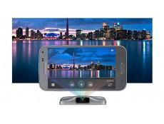 Фото Компания Samsung официально представила второе поколение смартфонов, оснащенных встроенным проектором – Galaxy Beam 2