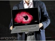 Фото На выставке Computex 2014 года компания Asus представила новый ультрабук с 4K-разрешением – Zenbook NX500