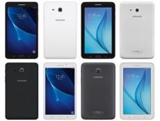 Фото Появились официальные изображения 7-дюймовых планшетов Samsung Galaxy Tab A и Galaxy Tab E, готовящихся к выпуску