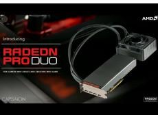 Фото Видеокарта для профессионального гейминга – AMD Radeon Pro Duo, появится в продаже в конце апреля по цене $1499