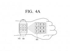 Фото Samsung подала заявку на патент умных часов, проецирующих интерфейс на поверхность руки