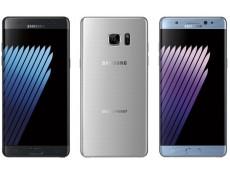 Фото Появилось официальное изображение смартфона Samsung Galaxy Note7, которое демонстрирует доступные варианты его расцветки