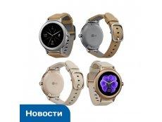 Фото Появилось новое изображение умных часов LG Watch Style в цветах Silver и Rose Gold